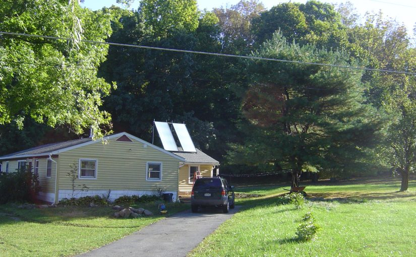 Past Project: Solar Hot Water System