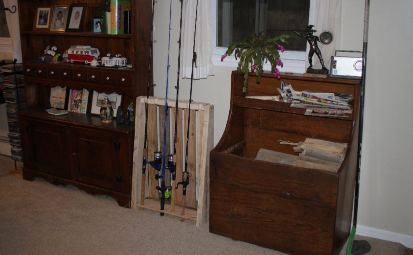 The fishing rod holder