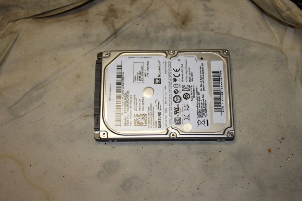 Failed 1TB HDD from Xbox One S